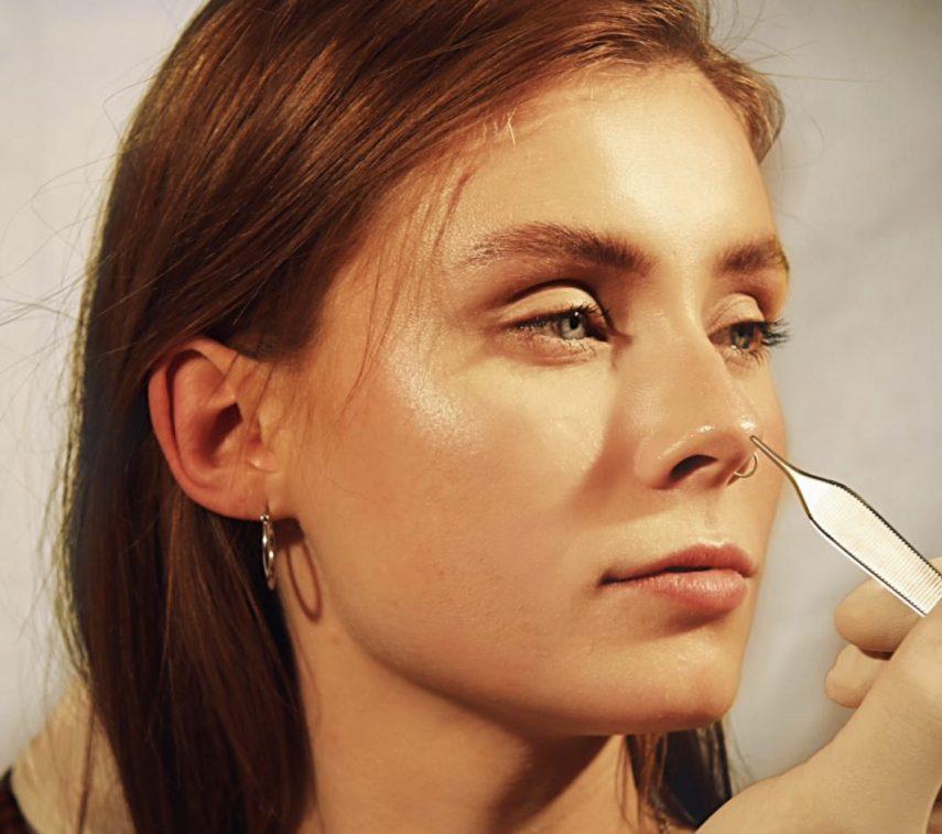 Nasenkorrektur ohne OP Nase