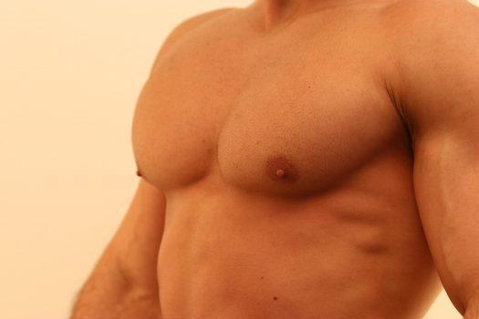 Brust Mann